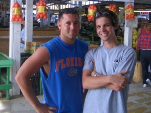 Michael Celidonio (left) and Timothy Mortimer (right)
